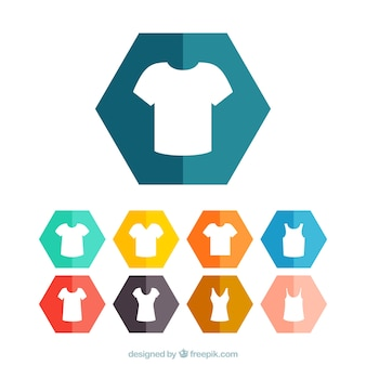 Camicia icone t