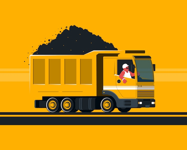 Camion dei cartoni animati