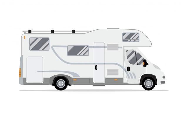 Camion di casa mobile camper.