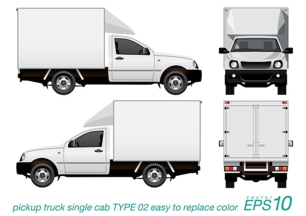Camion di consegna pick-up