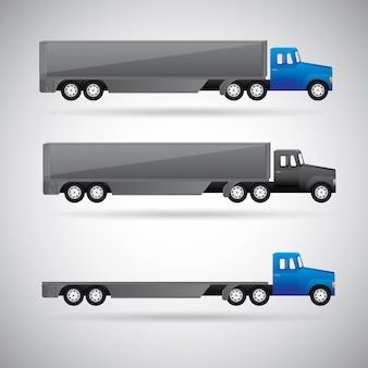 Camion per la consegna