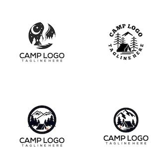 Camp logo collection