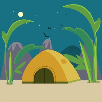 Campeggio colorato