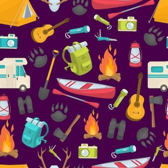 Camping seamless