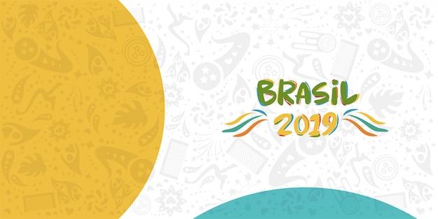 Campionato 2019 conmebol copa america in brasile