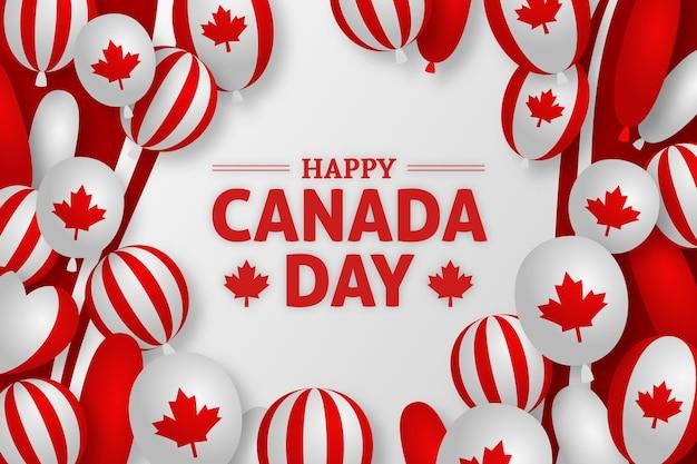 Canada giorno sfondo design