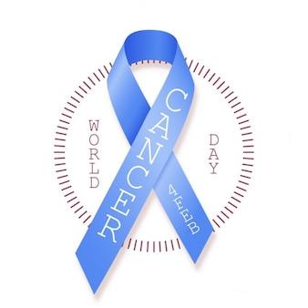 Cancer day bandiera blu 4 febbraio mondiale