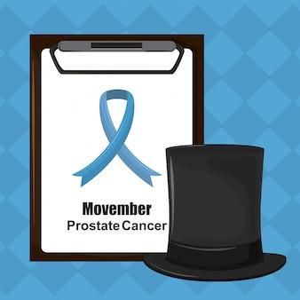 Cancro alla prostata di movember