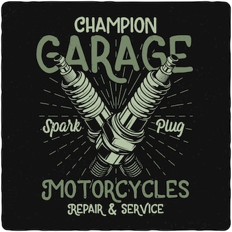 Candela per moto