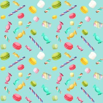 Candy senza saldatura pattern