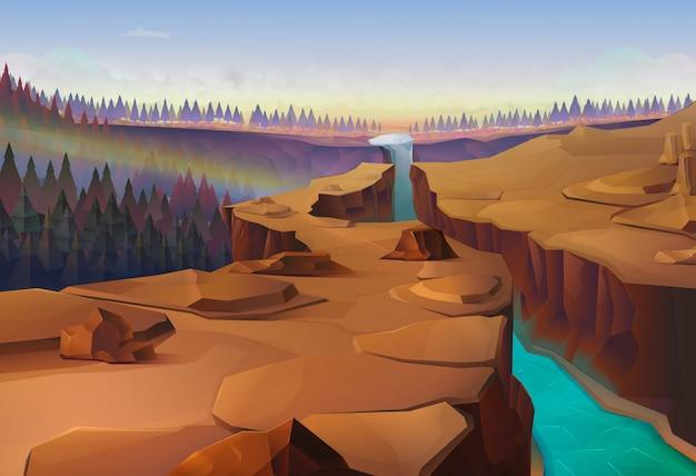 Canyon, natura