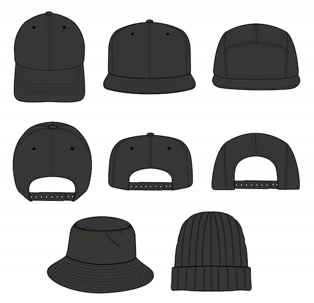 Cappello cap beanie design