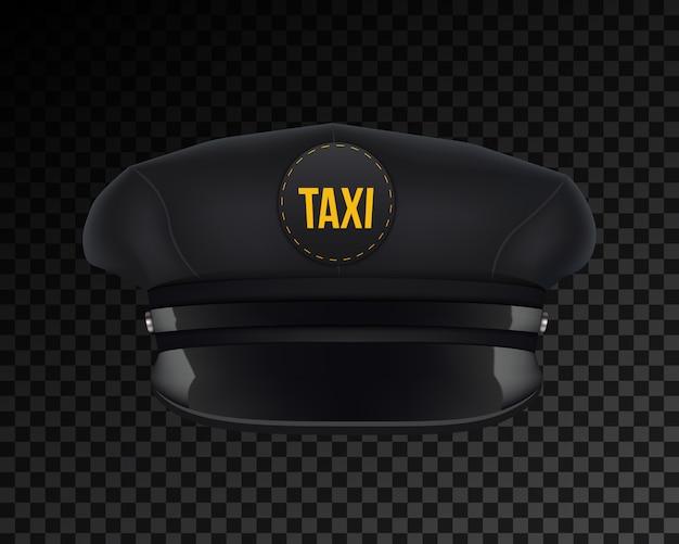Cappello da tassista classico retrò con visiera.