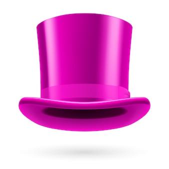 Cappello viola 3d
