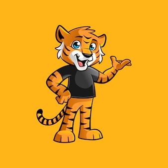 Capretto tigre si
