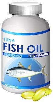 Capsula di olio di pesce di tonno