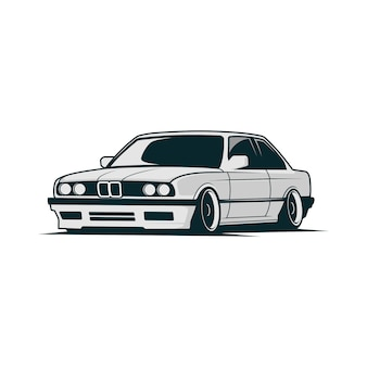 Car vector bmw