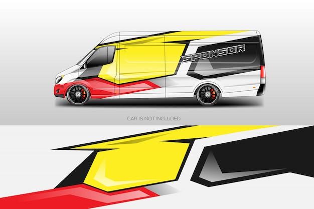 Car wrap disegni vettoriali