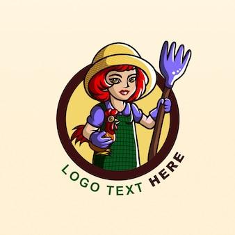 Caracter farmer logo