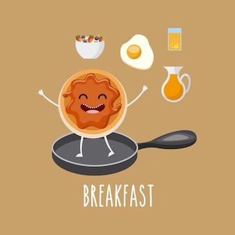 Carattere delizioso e nutriente per la colazione
