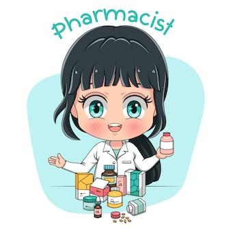Carattere farmacista
