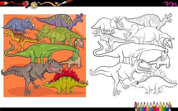 Caratteri da colorare dino