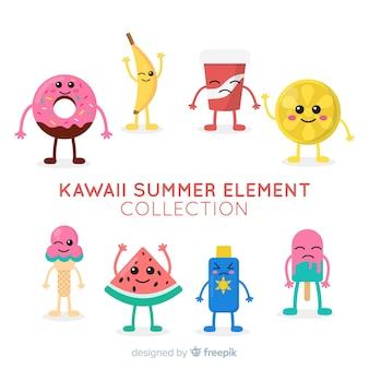 Caratteri estivi kawaii