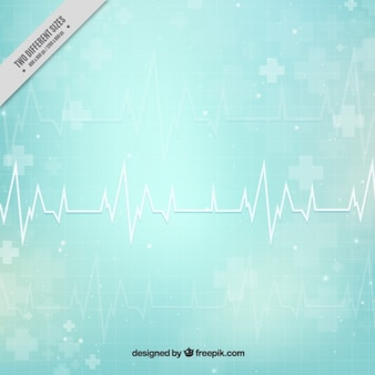 Cardiogramma sfondo medico astratto