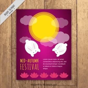 Carino brochure del mid-autumn festival