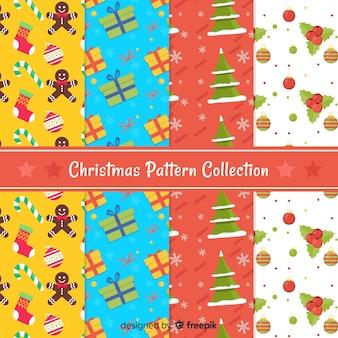 Carino collezione di motivi natalizi
