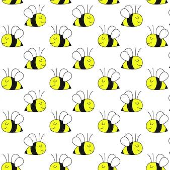 Carino modello di ape del miele