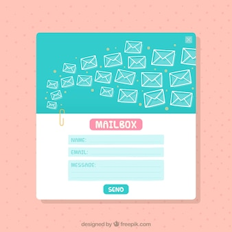 Carino modello e-mail