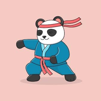 Carino panda marziale punzonatura