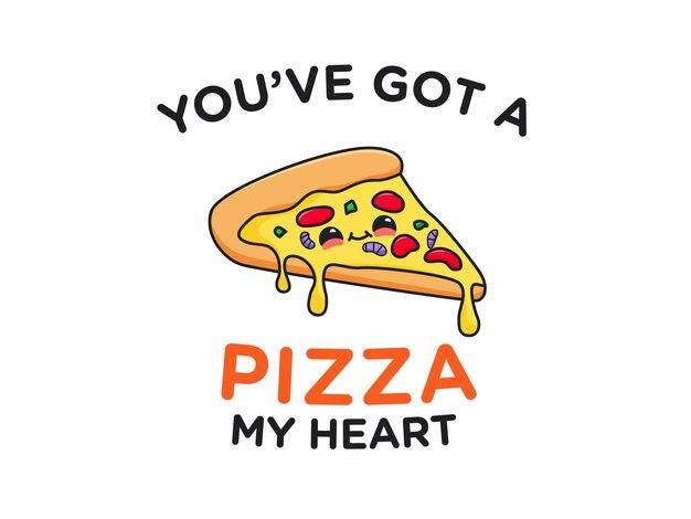 Carino pizza food pun
