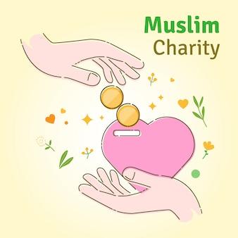 Carità musulmana i