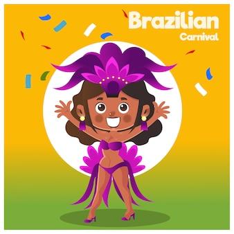 Carnevale brasiliano.