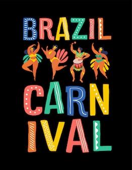 Carnevale del brasile.