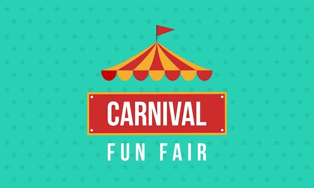 Carnival fun fair theme design