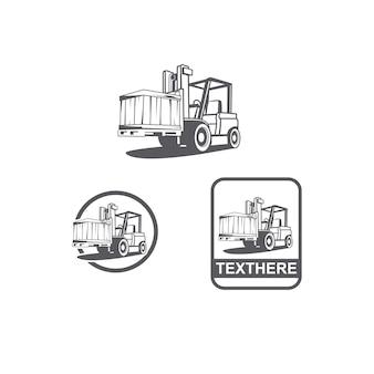Carrello elevatore per camion