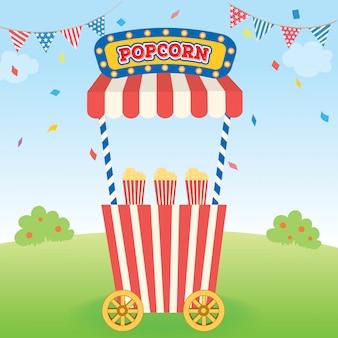 Carrello per popcorn 2