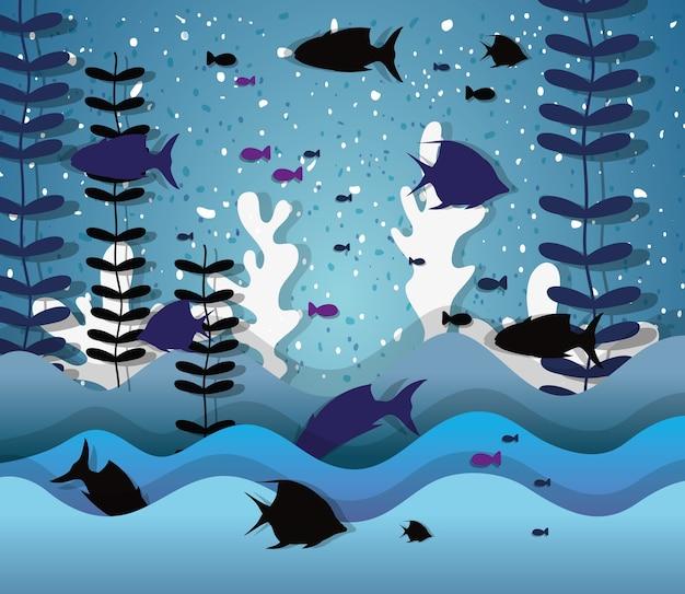Carta d'arte sottomarina