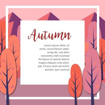 Carta d'autunno