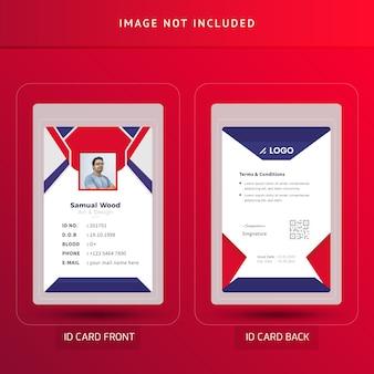 Carta d'identità dell'ufficio o carta d'identità