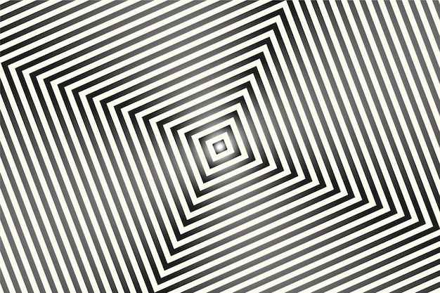 Carta da parati con il concetto psichedelico di illusione ottica