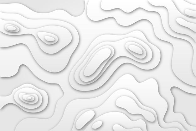 Carta da parati con mappa topografica