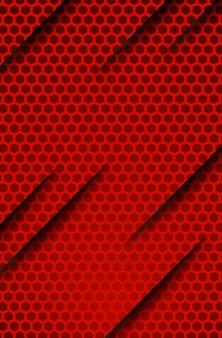 Carta da parati corporativa del fondo di concetto dell'innovazione metallica astratta del tect