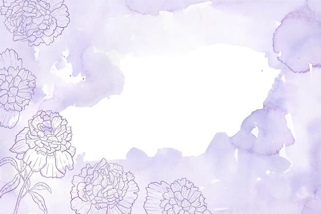 Carta da parati decorativa pastello in polvere