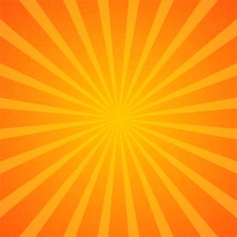 Carta da parati dello sfondo dello sprazzo di sole