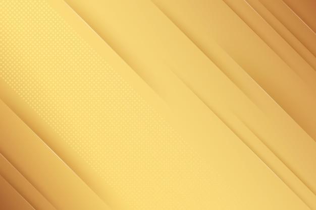 Carta da parati di lusso dorata minimalista