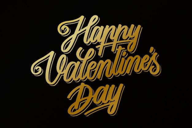 Carta da parati dorata di san valentino
